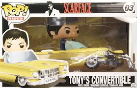 scarface cars amazon com funko pop movie vinyl scarface scarface pop car