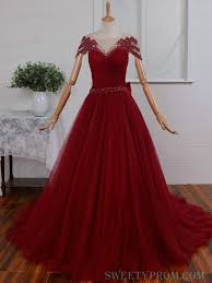 burgundy quince dresses cap sleeves burgundy gorgeous open back pearl quinceanera dress