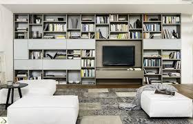 arredo librerie libreria soggiorno moderna in legno setten arredo design