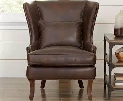Leather Wingback Chair 10 Leather Wingback Chair With Prestigious Pricing