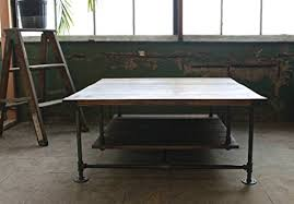 Industrial Accent Table Classic Coffee Table Industrial Table Rustic Coffee Table
