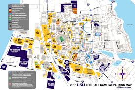 Interstate 10 Map 2015 Football Parking Map Released And The Valley Shook