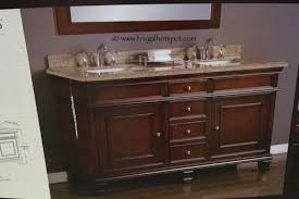 Mission Vanity Costco Clearance Mission Hills Wood Vanity Double Sink 699 97