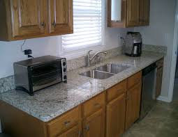 Cabinet For Kitchen Sink Furniture Exciting Countertop Design With Verde Butterfly Granite