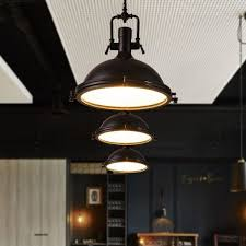 Industrial Style Lighting For A Kitchen Industrial Kitchen Ceiling Lights Pendant Lights European Rustic