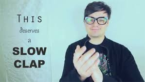 Slow Clap Meme - reaction slow clap gif by windflame find download on gifer
