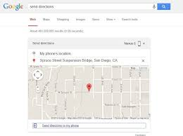 map search directions use search to locate your android phone or tablet send