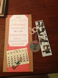 diy save the dates diy save the dates and photo strips brown card stock cheap diy