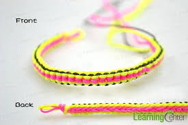 make bracelet with string images Make the closure for string friendship bracelet craft jpg