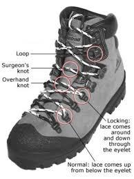 s boots with laces common hiking boot lacing techniques backpacker