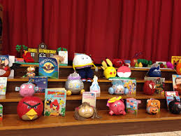 Decorated Pumpkins Contest Winners Kinder Pumpkin Character Contest Ermel Elementary