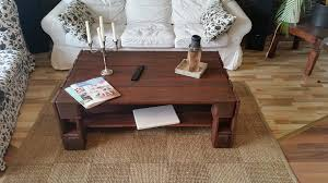 diy wood pallet choco coffee table 99 pallets
