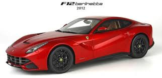 f12 model bbr 1 18 scale f12 berlinetta 2012 rosso berlinetta