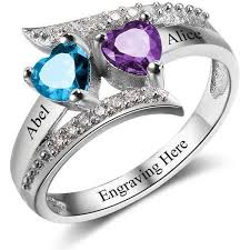 about mothers rings images Engraved birthstone anniversary promise rings think engraved JPG