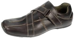red tape mens comfort slip on velcro leather shoes men u0027s loafer