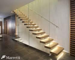 freitragende treppen marretti srl freitragende treppe aus edelstahl