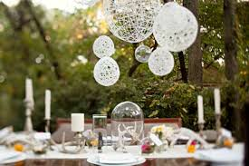 Backyard Wedding Centerpiece Ideas Wedding Decoration Ideas Diy Image Gallery Image On