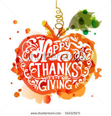 flat design style happy thanksgiving day stock vector 338417087
