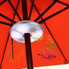 Umbrella Ceiling Light Top Five Best Umbrella Lights Patio Umbrella Light Outsidemodern