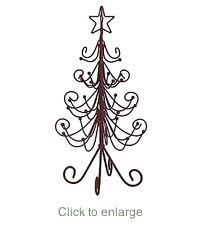 iron tree decor