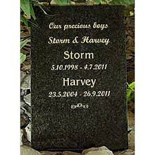 headstones for dogs granite pet memorial headstone