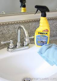 How To Clean Chrome Fixtures And Keep Them Clean A Giveaway Ask Clean Chrome Bathroom Fixtures
