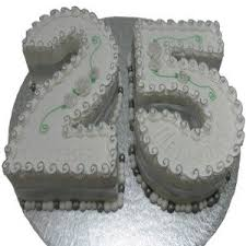 best 25th wedding anniversary cakes cakes design for 25th