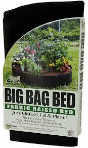 How To Make A Raised Vegetable Garden by Amazon Com Smart Pots 12100 Big Bag Bed Fabric Raised Bed Garden