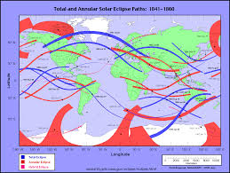 Mexico 1821 Map by Eclipsewise Solar Eclipses 1981 1990