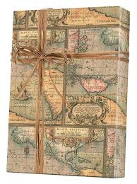 kraft christmas wrapping paper world map kraft gift wrap innisbrook wrapping paper