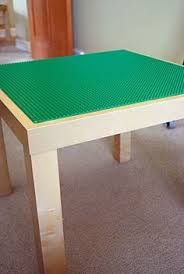 Lego Table Ikea by Ikea Lack Side Table Converted To A Lego Table With Lego Storage