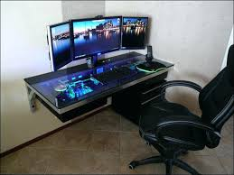 Two Computer Desk Setup Best Computer Desk Setup Design Of White Gaming With Nzxt H