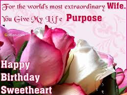 Loving Happy Birthday Quotes by 70 Beautiful Birthday Wishes Images For Wife U2013 Birthday Greetings