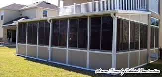 Outdoor Glass Patio Rooms - glass and sunroom enclosures jacksonville colonial construction