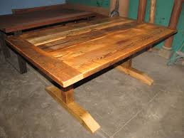 Farm Tables With Benches Custom Tables Heritage Salvage