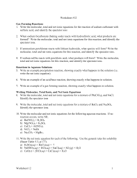 worksheet 12cgt