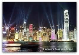 hong kong light show cruise the symphony of lights