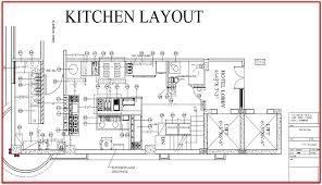 Italian Restaurant Floor Plan Restaurant Kitchen Equipment Layout With Kitchen Appealing