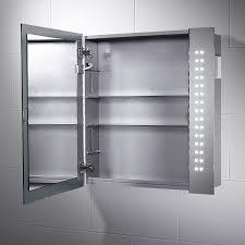 Mirrored Bathroom Cupboard Illuminated Bathroom Mirror Cabinets Demister Www Redglobalmx Org
