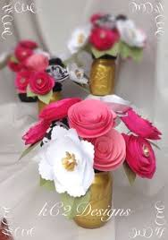 paper flower centerpieces paper flower centerpiece ideas they dont to be paper a few