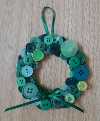 button wreaths