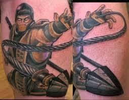 video game tattoo ideas