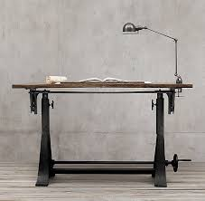 Iron Drafting Table American Trestle Drafting Table