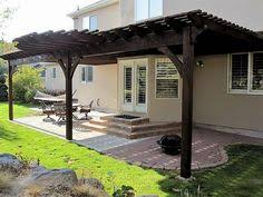 Attached Pergola Plans by Covered Pergola Enhances Beauty And Grandeur Of Home Covered