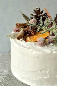 Gingered Christmas Fruitcake With Rustic Decorations Domestic