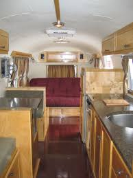 Vintage Airstream Interior by 1966 Airstream Overlander U2014 Airstream Restoration