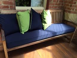 Custom Window Seat Cushions Wicker Settee Cushion Cushions Decoration
