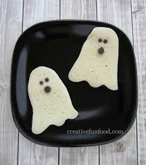 halloween ghost pancakes she michelle or so she says