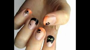 black cat design nail art the best nail art designs compilation