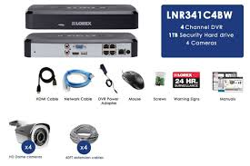 1080p ip camera system with 4 hd 1080p security cameras 1tb hard